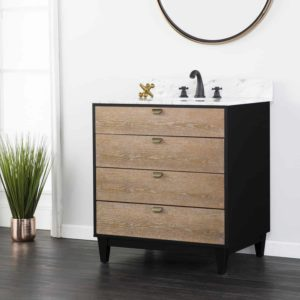 Tobin Bath Vanity Sink w/ Marble Top