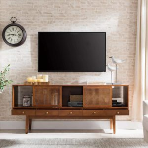 Simms Midcentury Modern Media Console