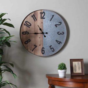 Gallen Industrial Wall Clock