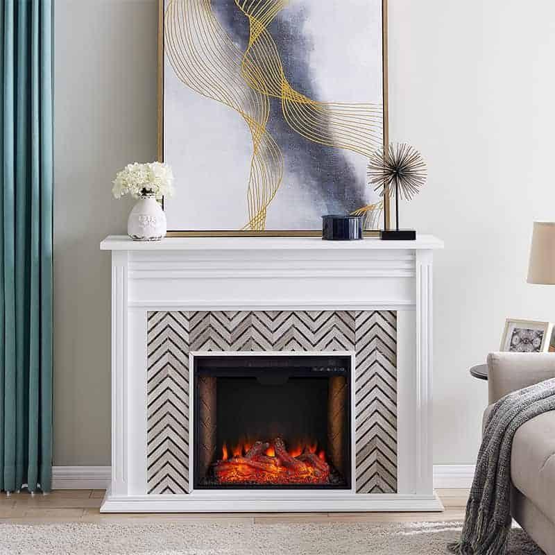 Hebbington Alexa Smart Fireplace